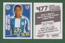 Wigan Athletic Antonio Valencia Ecuador 477